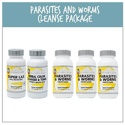 Parasites and Worms Cleanse Package